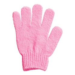 Pink Exfoliating Bath Glove