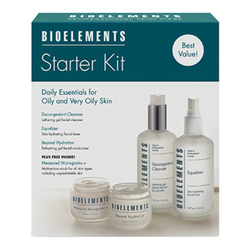 Bioelements Starter Kit for Oily/Very Oily Skin - Get Great Skin in a Box, 1 sets
