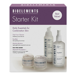 Bioelements Starter Kit for Combination Skin - Get Great Skin in a Box, 1 sets