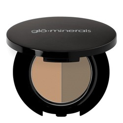 gloMinerals Brow Powder Duos - Taupe, 1.11g/0.04 oz
