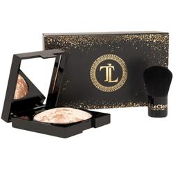 T LeClerc Gold Box - Poudre Lunaire + Son Kabuki, 1 sets