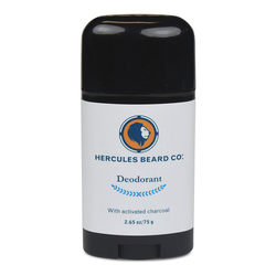 Hercules Beard Co Activated Charcoal Deodorant, 75g/2.6 oz