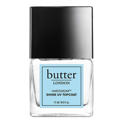 butter LONDON Hardwear Shine UV Topcoat, 11ml/0.4 fl oz