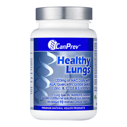 CanPrev Healthy Lungs, 90 capsules