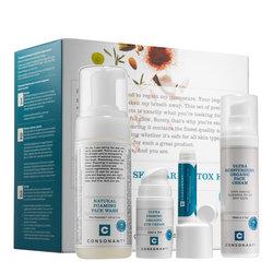 Consonant Healthy Skin Care Detox Kit - Oily Combination, 1 sets