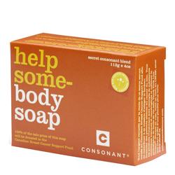 Consonant Help Some-Body Soap, 112g/4 oz