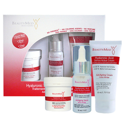 BeautyMed Hyaluronic Acid Dermo Active Treatment Kit, 3 pieces