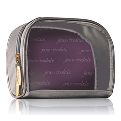 jane iredale Clearview Cosmetic Bag - Graphite, 1 pieces