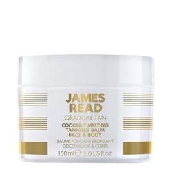James Read GRADUAL TAN Coconut Melting Tanning Balm Face and Body, 150ml/5.1 fl oz