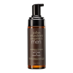 John Masters Organics Eucalyptus and Agave 2-in-1  Face Wash and Shave Foam, 177ml/6 fl oz