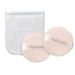 Koh Gen Do Face Powder Puffs With Case, 2 pieces