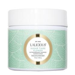 LaLicious Sugar Scrub - Sugar Tiare Flower, 453g/16 oz