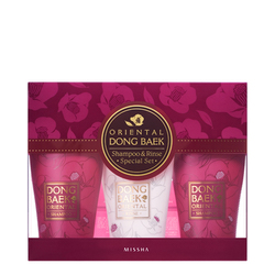 MISSHA Oriental Camellia Hair Care Set, 3 pieces