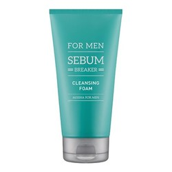 MISSHA For Men Sebum Breaker Cleansing Foam, 150ml/5.1 fl oz