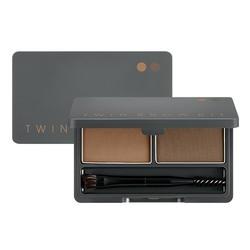 MISSHA Twin Brow Kit - No.1 | Natural Brown, 20g/0.7 oz