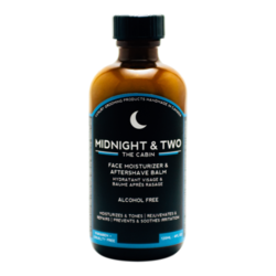 Midnight and Two After Shave Balm / Face Moisturizer - The Cabin, 120ml/4.1 fl oz