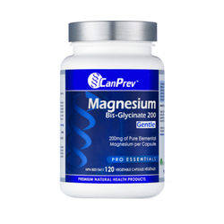CanPrev Magnesium Bis-Glycinate 200 Gentle | 120 V-Caps, 1 piece