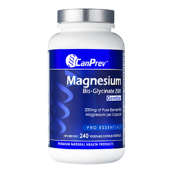 CanPrev Magnesium Bis-Glycinate 200 Gentle | 240 V-Caps, 1 piece