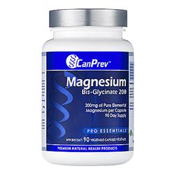 CanPrev Magnesium Bis-Glycinate 200 | 90+30 vcaps BONUS, 1 pieces