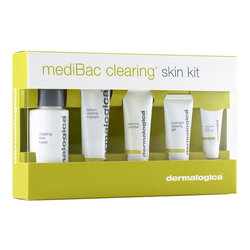 Dermalogica MediBac Clearing Adult Acne Treatment Kit, 5 Pieces