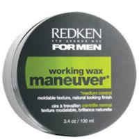 Redken Men Maneuver Workin Wax, 100ml/3.3 fl oz