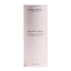 One Love Organics Healthy Locks Dry Shampoo Powder - Travel Size, 17ml/0.6 fl oz