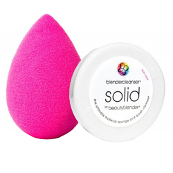 Beautyblender Original Sponge + Mini BlenderCleanser Solid Kit, 2 pieces