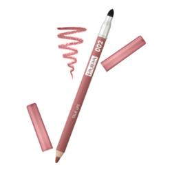Pupa True Lips Lip Pencil - 02 Tea Rose, 1 piece