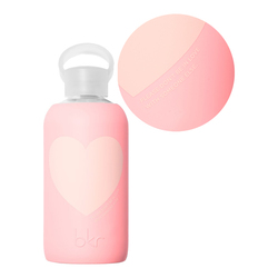 bkr Water Bottle - Elle Text Heart | Little (500ML), 1 pieces