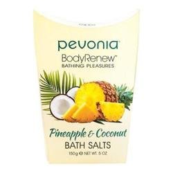 Pevonia Body Renew Pineapple and Coconut Bath Salts, 150g/5 oz