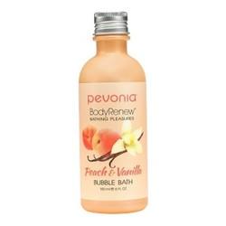Pevonia Body Renew Peach and Vanilla Bubble Bath, 180ml/6 fl oz