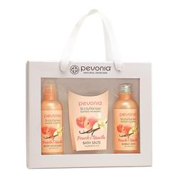 Pevonia Body Renew Peach and Vanilla Gift Set, 1 set
