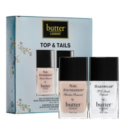 butter LONDON Patent Gel Top and Tails Set - Gel Hardwear and Nail Foundation Set, 1 sets