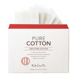 Koh Gen Do Pure Cotton 60 Pads, 1 pieces