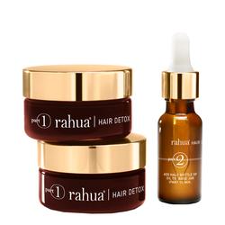 Rahua Hair Detox & Renewal Treatment Kit, 3 pieces