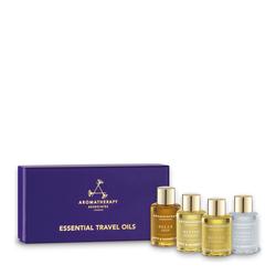 Aromatherapy Associates Essential Travel Oils, 4 x 7.5ml/0.3 fl oz
