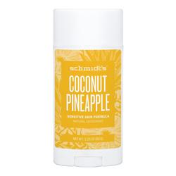 Schmidts Natural Deodorant Sensitive Skin Deodorant Stick - Coconut Pineapple, 92g/3.25 oz
