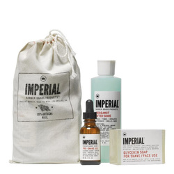 Imperial Barber Products Shave Bundle, 1 sets