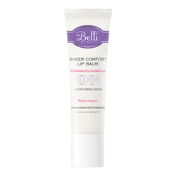 Belli Sheer Comfort Lip Balm, 8.87ml/0.3 fl oz