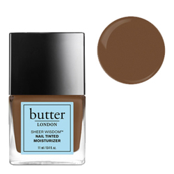 butter LONDON Sheer Wisdom Nail Tinted Moisturizer - Deep, 11ml/0.4 fl oz