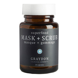 Graydon Clinical Luxury Superfood Mask & Scrub, 20 capsules