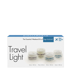 Bioelements Travel Light Kit - Age Activists, 4 pieces