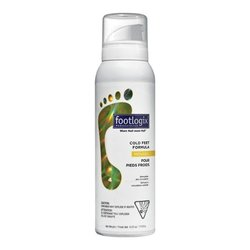 Footlogix #4 Cold Feet Formula, 120g/4.2 oz