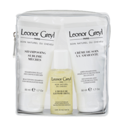 Leonor Greyl Luxury Travel Kit for Colored Hair, 1 sets