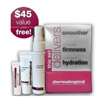 Free Gift with Orders over $200 of Dermalogica: Dermalogica Age Smart Skin Firming Set