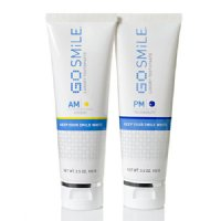GoSMILE AM and PM Toothpaste Duo (2 pcs), 100ml/ 3.5 fl oz