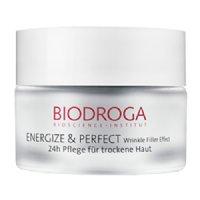 Biodroga Energize & Perfect 24-Hour Care for Dry Skin, 50ml/1.7 fl oz