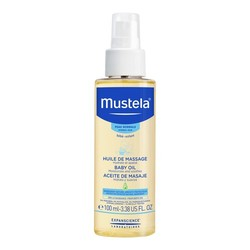 Mustela Baby Oil, 100ml/3.4 fl oz