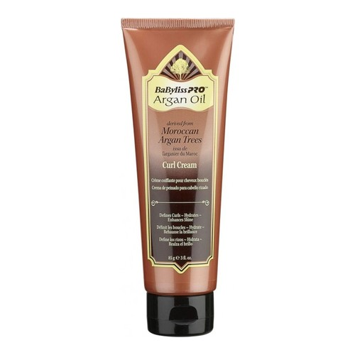 Babyliss Pro Argan Oil Curl Cream, 85g/3 oz
