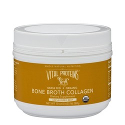 Vital Proteins Bone Broth Collagen - Beef | Canister, 280g/10 oz